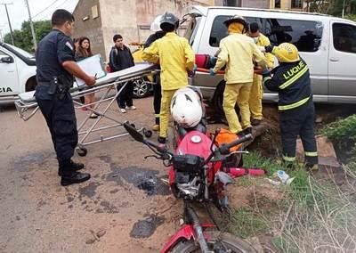 Reportan varios accidentes en Luque •