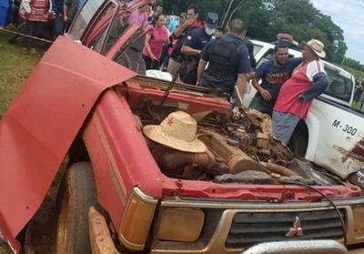 Fatal accidente en Colonia Independencia
