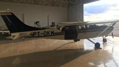 Roban avioneta en Brasil y sospechan fue traída a Paraguay