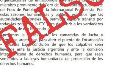 Frente Guasu desmiente supuesto panfleto en apoyo al EPP