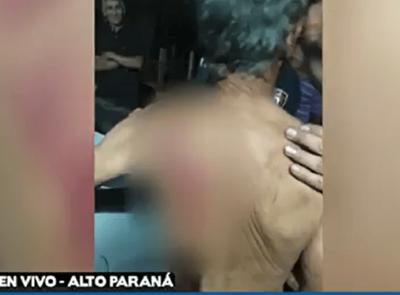 Violento asalto a ancianos en Minga Guazú