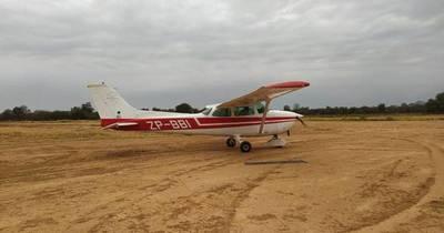La Nación / Desconocidos robaron una avioneta en Loma Plata
