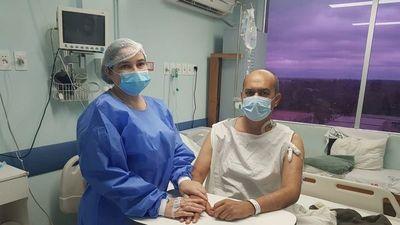 Mujer dona un riñón a su marido en trasplante exitoso en Hospital Central de IPS