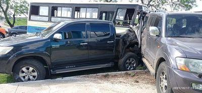 Accidente múltiple de tránsito en Luque deja varios heridos