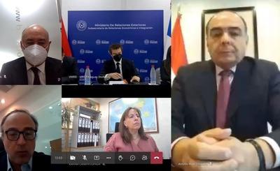 Destacan relación estratégica entre Paraguay y Chile y negociaciones para un acuerdo comercial