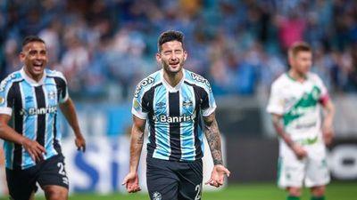 Primer gol de Mathías Villasanti en Gremio