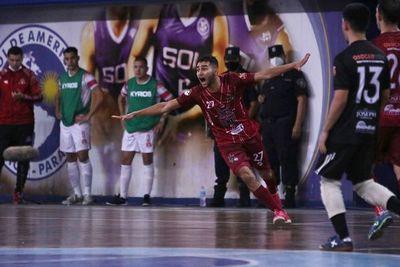 Ysaty va bien en la Liga Premium de Futsal FIFA