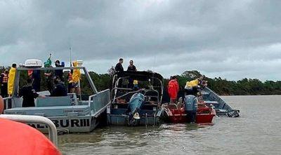 Sube a siete número de muertos en Naufragio de barco-hotel en Pantanal brasileño