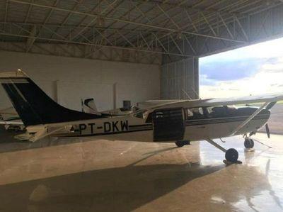 Roban avioneta en el Brasil y sospechan que fue traída a Paraguay