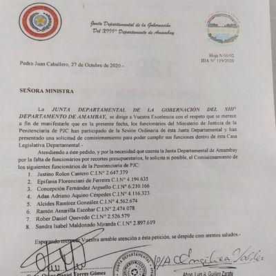 Concejal y abogado de narco pidió reubicar a guardiacárceles imputados