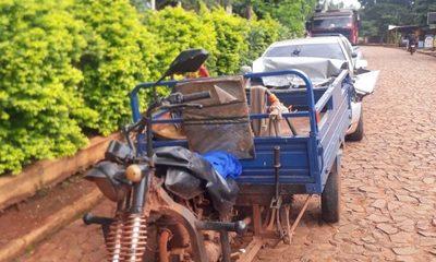 Menor que iba en un motocarro con su madre queda grave tras ser arrollados por automóvil – Diario TNPRESS