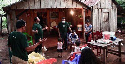 Organización Evangélica Misionera lleva alimentos a comunidades indígenas