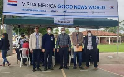 Organización Internacional con apoyo de la Gobernación brindó atención médica