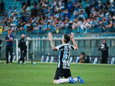 Mathías Villasanti convirtió en el valioso triunfo de Gremio