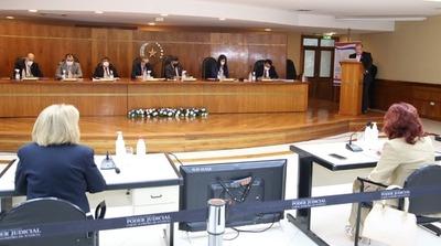 Última semana de audiencias públicas a candidatos a la CSJ