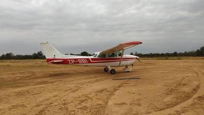 DINAC no tiene información para ayudar a localizar la aeronave robada