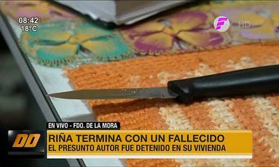 Riña termina con un fallecido en Fernando de la Mora