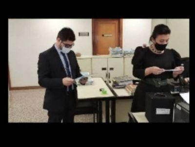 Superintendencia de Justicia recomendó sanción para camarista del Tribunal de Apelación de Amambay Mirtha Estela Sánchez