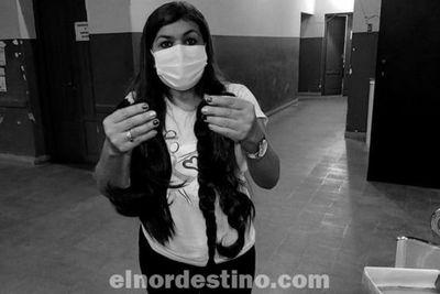 Octubre Rosa: Reciben donación de cabellos para pelucas solidarias en el Hospital Regional de la ciudad de Concepción