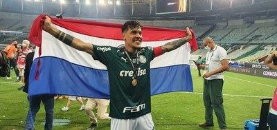 Gustavo Gómez, el tercer extranjero con más partidos y victorias en el Palmeiras