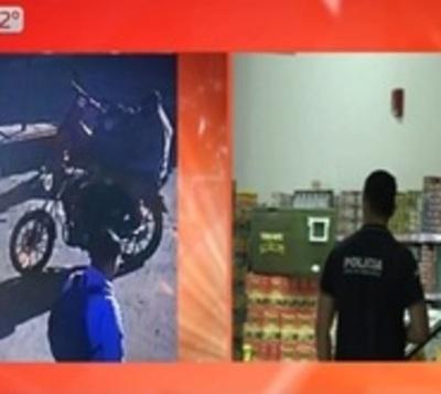 Millonario asalto a supermercado de Guarambaré