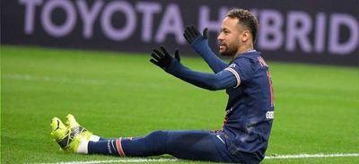 Neymar, lesionado de los aductores, baja con el PSG en la Champions