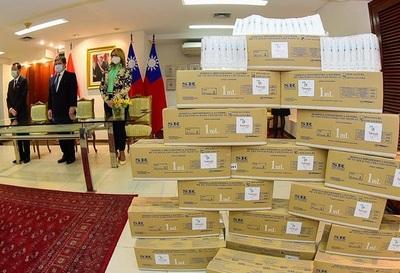 Destacan donaciones de Taiwán a Paraguay, en medio de la pandemia del Covid-19