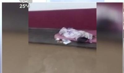 Indigente falleció en predio del Hospital de CDE