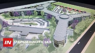 COLAPSO DE PACIENTES EN EL HOSPITAL REGIONAL HACE ANHELAR LA OBRA DEL GRAN HOSPITAL. / Itapúa Noticias
