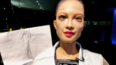 Sophia, la robot humanoide, ahora quiere tener un bebé robot.