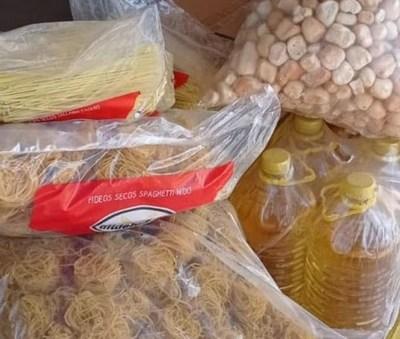 Gobernación entregó alimentos al Hospital Regional