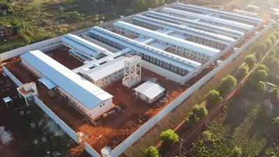 Obras del centro penitenciario de Minga Guazú en etapa final