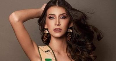 La Miss Grand Paraguay se presenta ante el mundo y habla sobre la pandemia