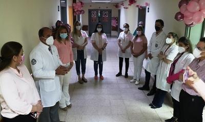 """Inician cirugías en el marco de la """"Semana Rosa"""" en el Hospital de Clínicas"""