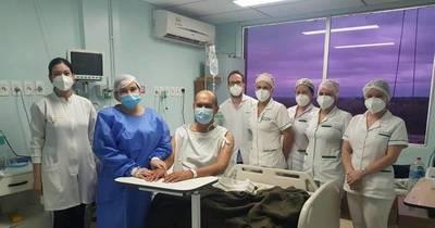La Nación / Mujer dona riñón a su esposo tras exitosa intervención en IPS