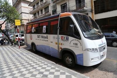El PAC móvil de la SET ofrece servicios gratuitos a Canindeyú