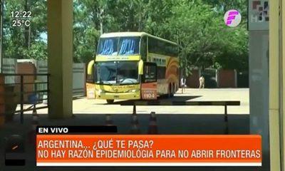 Argentina sigue sin abrir las fronteras con Paraguay
