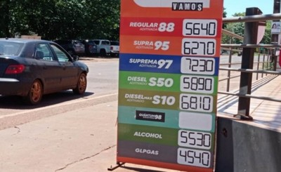 No para: prevén nueva suba del precio del combustible para noviembre