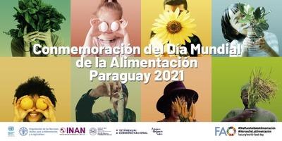 Continúan actividades en conmemoración del Día Mundial de la Alimentación 2021