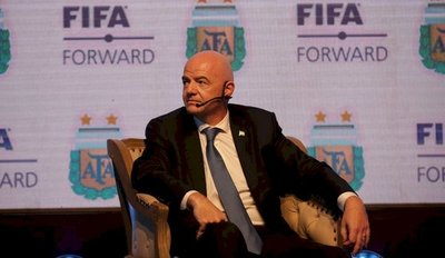 """Sería fantástico pensar en un Mundial en Sudamérica"""