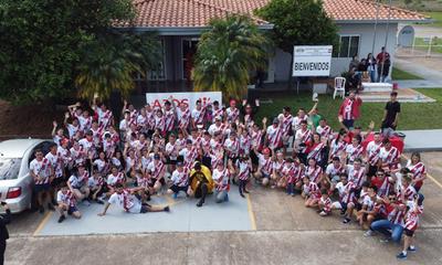 Con presencia de unos 150 participantes, realizaron con éxito la tercera edición de Ajos Run