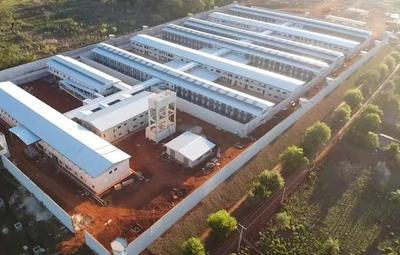 Nueva cárcel de Minga Guazú: obras están en etapa final