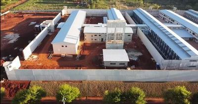 Obras en nueva cárcel de Minga Guazú están a punto de culminar