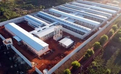 Penitenciaría de Minga Guazú registra avance del 95,5%