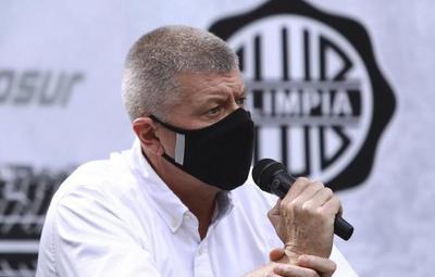 """Olimpia: """"La frustración de los hinchas se entiende"""", afirma Brunotte"""