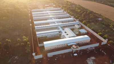 En Minga Guazú la nueva penitenciaría alcanza el 96% de avance general