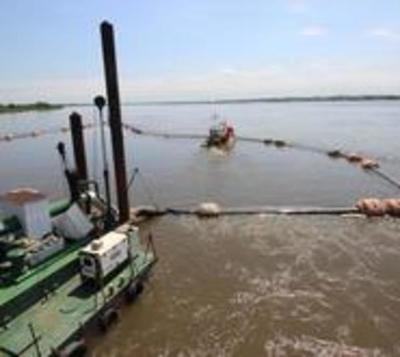 Dragado de ríos busca mejorar navegabilidad