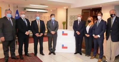 La Nación / Chile dona 100.000 dosis de AstraZeneca a Paraguay