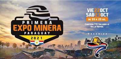 Este viernes y sábado se hará la primera edición de Expo Minera Paraguay 2021