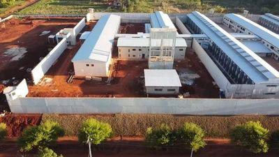 La nueva penitenciaría situada en la ciudad de Minga Guazú, departamento de  Alto Paraná